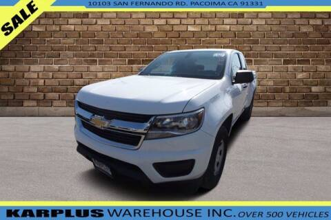 2015 Chevrolet Colorado for sale at Karplus Warehouse in Pacoima CA