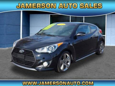 2015 Hyundai Veloster for sale at Jamerson Auto Sales in Anderson IN
