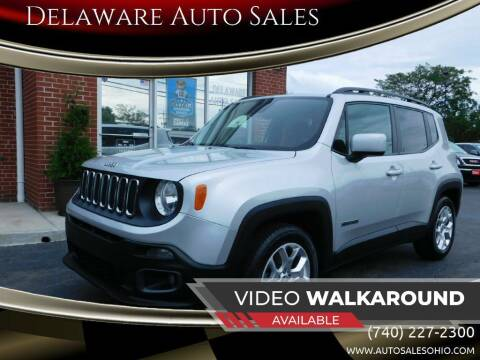 2016 Jeep Renegade for sale at Delaware Auto Sales in Delaware OH