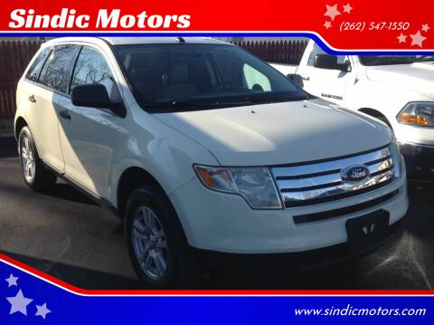 2007 Ford Edge for sale at Sindic Motors in Waukesha WI
