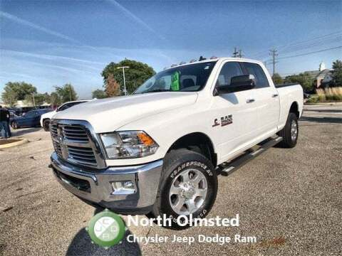 2018 RAM Ram Pickup 2500 for sale at North Olmsted Chrysler Jeep Dodge Ram in North Olmsted OH