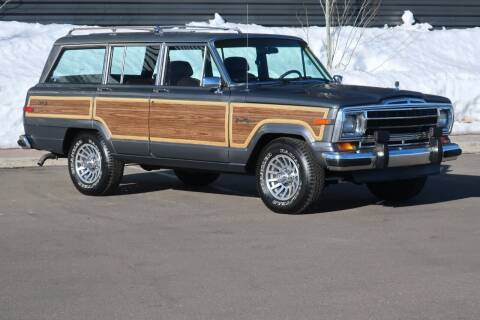 1989 Jeep Grand Wagoneer for sale at Sun Valley Auto Sales in Hailey ID