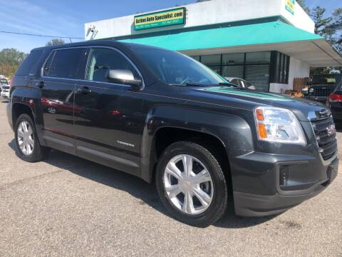 2017 GMC Terrain for sale at Action Auto Specialist in Norfolk VA