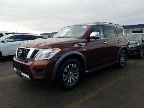 2018 Nissan Armada for sale at Shamrock Group LLC #1 in Pleasant Grove UT