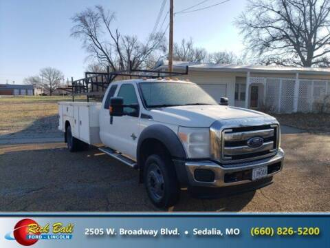 2015 Ford F-450 Super Duty for sale at RICK BALL FORD in Sedalia MO