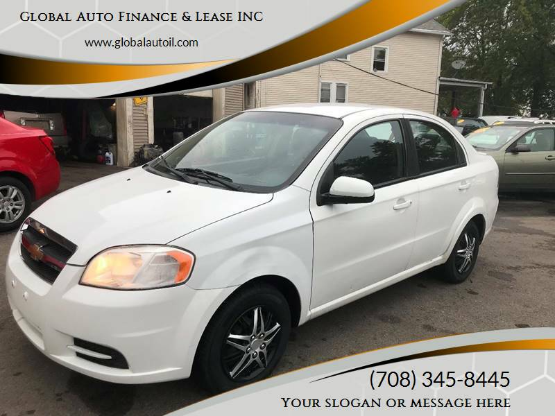 2011 Chevrolet Aveo for sale at Global Auto Finance & Lease INC in Maywood IL