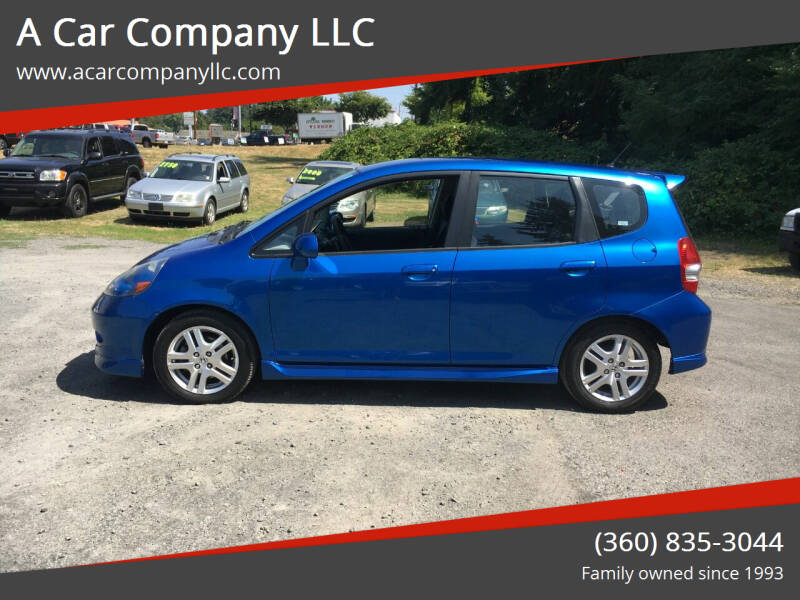 2008 Honda Fit for sale at A Car Company LLC in Washougal WA
