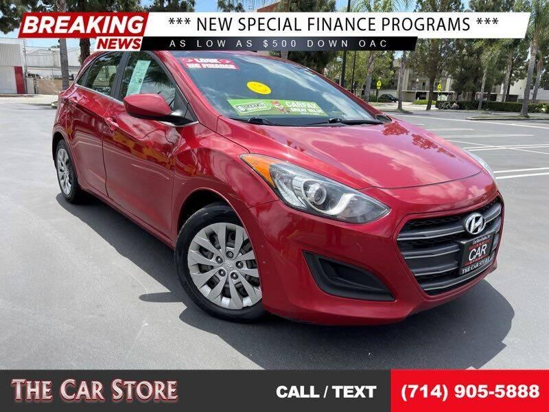 2017 Hyundai Elantra GT for sale at The Car Store in Santa Ana CA