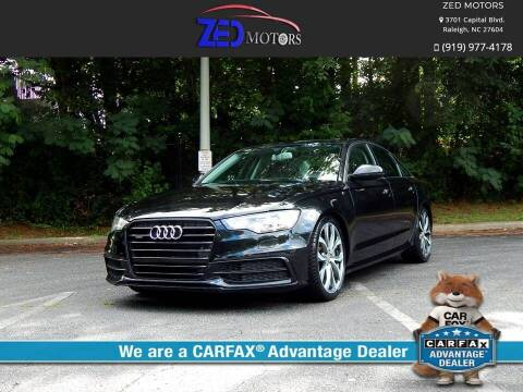 2012 Audi A6 for sale at Zed Motors in Raleigh NC
