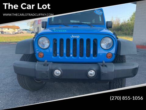 2011 Jeep Wrangler Unlimited for sale at The Car Lot in Radcliff KY