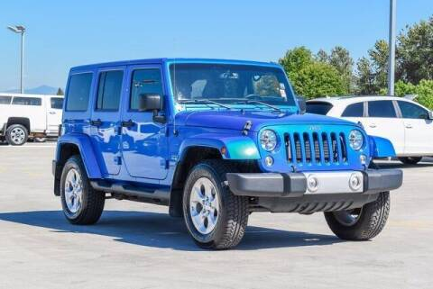 2014 Jeep Wrangler Unlimited for sale at Washington Auto Credit in Puyallup WA