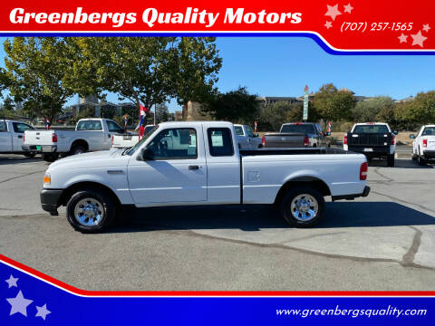 2009 Ford Ranger for sale at Greenbergs Quality Motors in Napa CA