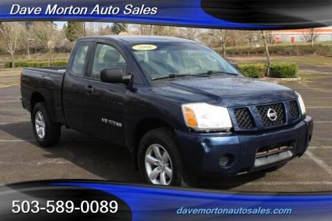 2006 Nissan Titan for sale at Dave Morton Auto Sales in Salem OR