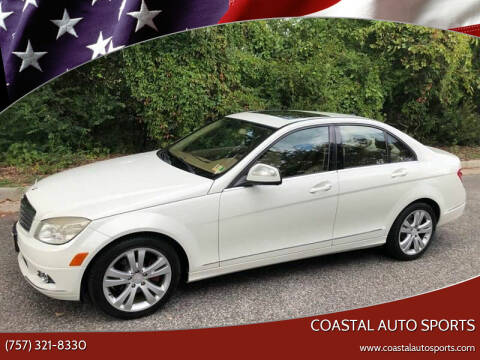 2008 Mercedes-Benz C-Class for sale at Coastal Auto Sports in Chesapeake VA
