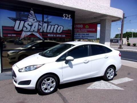 2015 Ford Fiesta for sale at USA Auto Inc in Mesa AZ