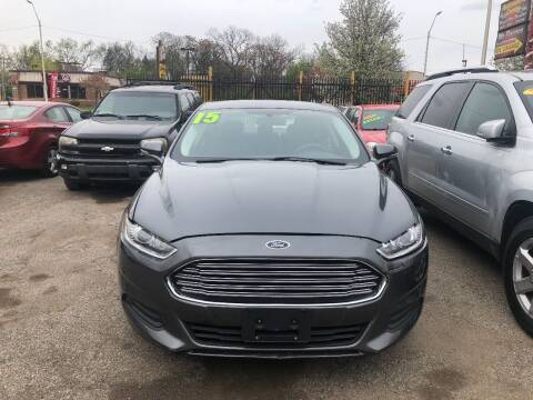 2015 Ford Fusion for sale at Automotive Center in Detroit MI