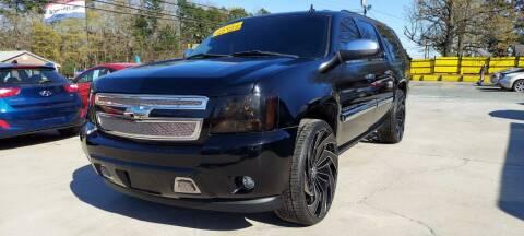 2008 Chevrolet Suburban for sale at DADA AUTO INC in Monroe NC