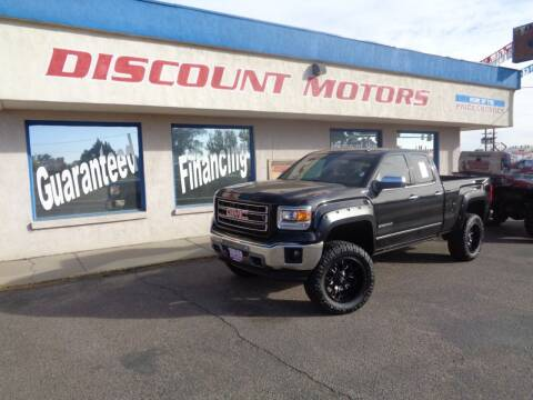 2014 GMC Sierra 1500 for sale at Discount Motors in Pueblo CO