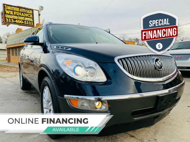 2012 Buick Enclave for sale at 3 Brothers Auto Sales Inc in Detroit MI