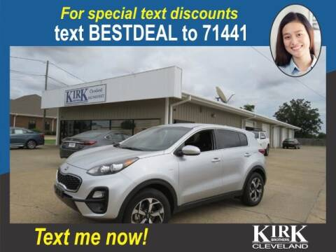 2021 Kia Sportage for sale at Kirk Brothers of Cleveland in Cleveland MS