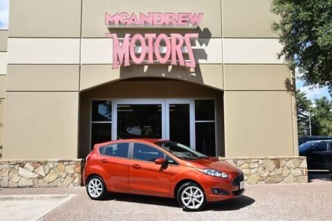 2019 Ford Fiesta for sale at Mcandrew Motors in Arlington TX
