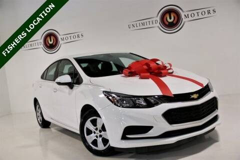 2016 Chevrolet Cruze for sale at Unlimited Motors in Fishers IN