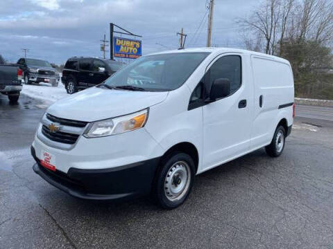2015 Chevrolet City Express Cargo for sale at Dubes Auto Sales in Lewiston ME