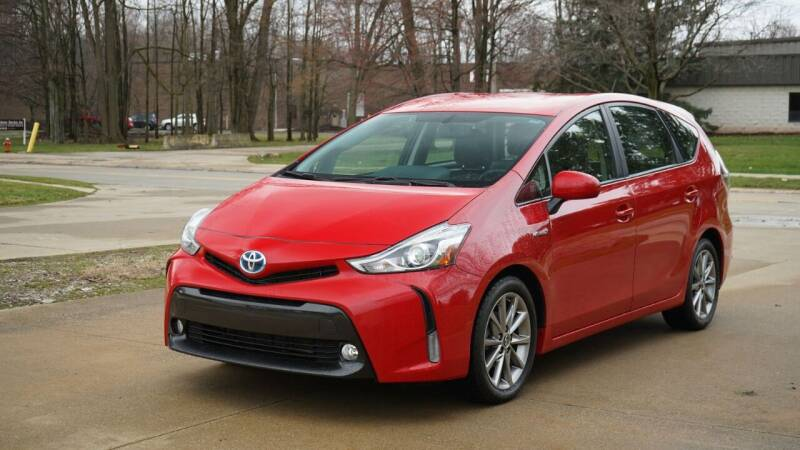 2017 Toyota Prius v for sale at Grand Financial Inc in Solon OH