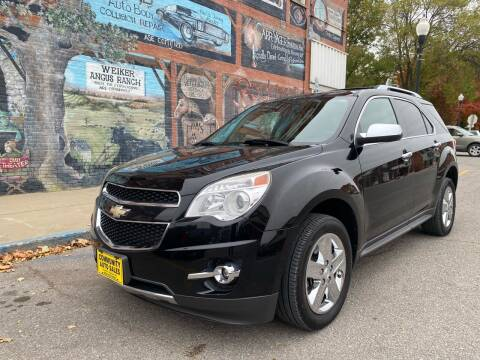 2014 Chevrolet Equinox for sale at Community Auto Sales & Service in Fayette MO