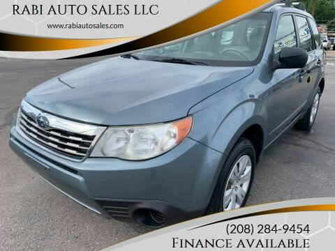 2010 Subaru Forester for sale at RABI AUTO SALES LLC in Garden City ID