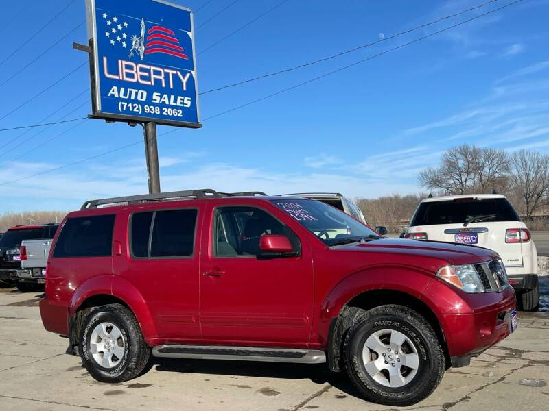 2007 Nissan Pathfinder for sale at Liberty Auto Sales in Merrill IA