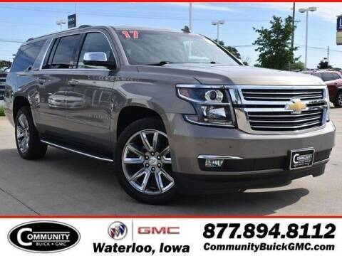 2017 Chevrolet Suburban for sale at Community Buick GMC in Waterloo IA