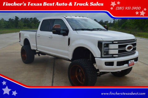2019 Ford F-250 Super Duty for sale at Fincher's Texas Best Auto & Truck Sales in Tomball TX