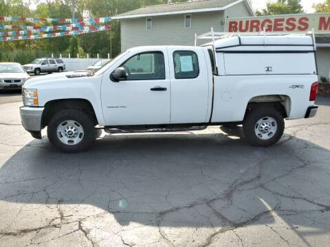 2011 Chevrolet Silverado 2500HD for sale at Burgess Motors Inc in Michigan City IN