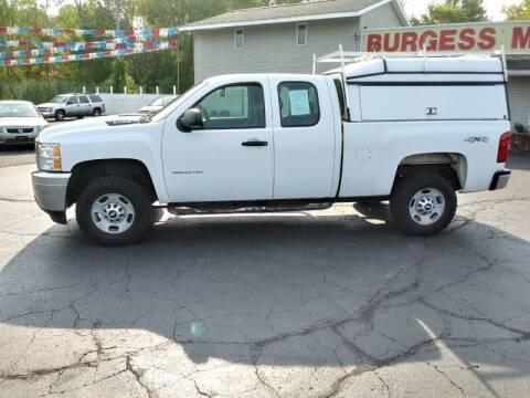 2011 Chevrolet Silverado 2500HD for sale at Burgess Motors Inc in Michigan City IN