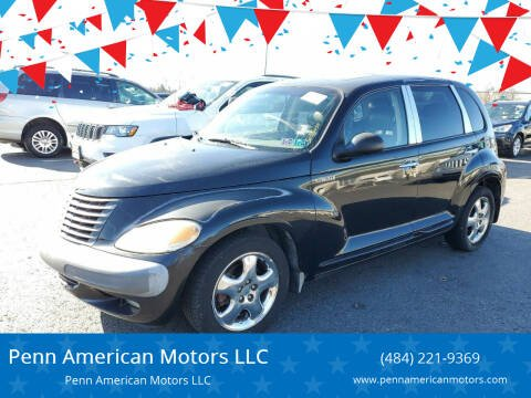2001 Chrysler PT Cruiser for sale at Penn American Motors LLC in Allentown PA