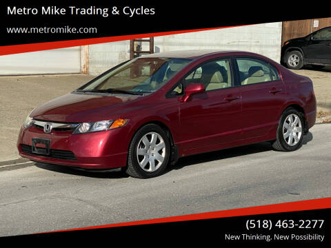 2008 Honda Civic for sale at Metro Mike Trading & Cycles in Albany NY