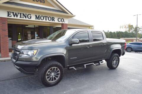 2018 Chevrolet Colorado for sale at Ewing Motor Company in Buford GA