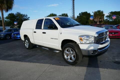 2007 Dodge Ram Pickup 1500 for sale at J Linn Motors in Clearwater FL