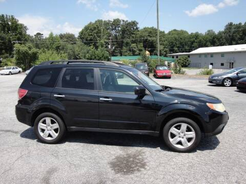 2010 Subaru Forester for sale at HAPPY TRAILS AUTO SALES LLC in Taylors SC