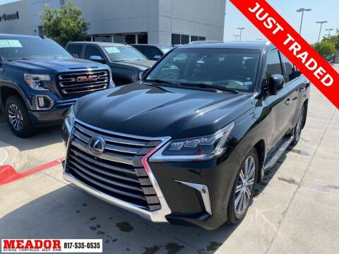 2017 Lexus LX 570 for sale at Meador Dodge Chrysler Jeep RAM in Fort Worth TX