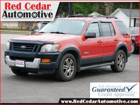 2007 Ford Explorer for sale at Red Cedar Automotive in Menomonie WI