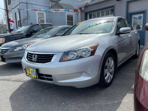 2010 Honda Accord for sale at JK & Sons Auto Sales in Westport MA