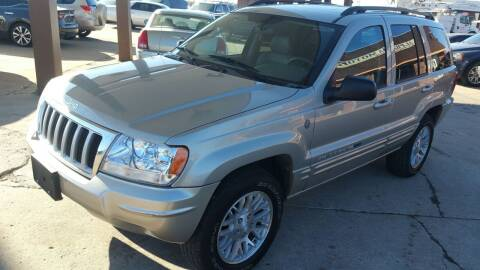 2004 Jeep Grand Cherokee for sale at Alpha Motors in Kansas City MO