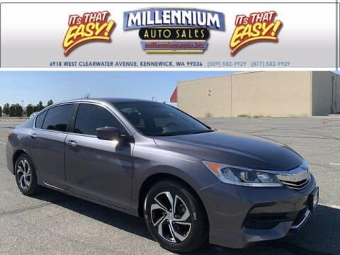 2016 Honda Accord for sale at Millennium Auto Sales in Kennewick WA