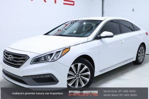 2015 Hyundai Sonata for sale at Fishers Imports in Fishers IN