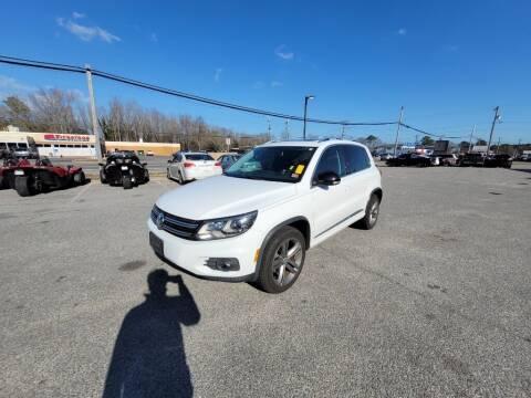 2017 Volkswagen Tiguan for sale at Moke America of Virginia Beach in Virginia Beach VA