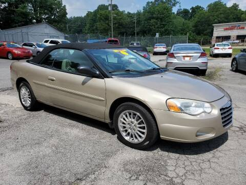 2005 Chrysler Sebring for sale at Import Plus Auto Sales in Norcross GA