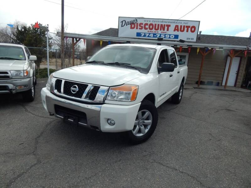 2010 Nissan Titan for sale at Dave's discount auto sales Inc in Clearfield UT