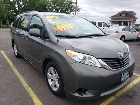 2011 Toyota Sienna for sale at Low Price Auto and Truck Sales, LLC in Brooks OR